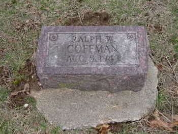 COFFMAN, RALPH W. - Washington County, Iowa | RALPH W. COFFMAN