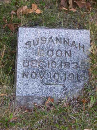 COON, SUSANNAH - Washington County, Iowa | SUSANNAH COON