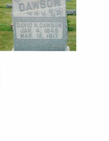 DAWSON, DAVID - Washington County, Iowa | DAVID DAWSON