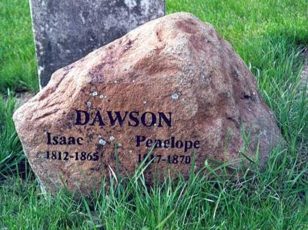 DAWSON, ISAAC AND PENELOPE - Washington County, Iowa | ISAAC AND PENELOPE DAWSON