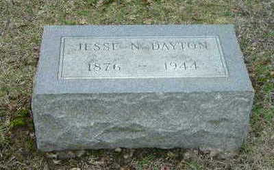 DAYTON, JESSIE N. - Washington County, Iowa | JESSIE N. DAYTON