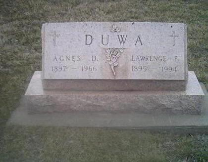 DUWA, LAWRENCE F. - Washington County, Iowa | LAWRENCE F. DUWA