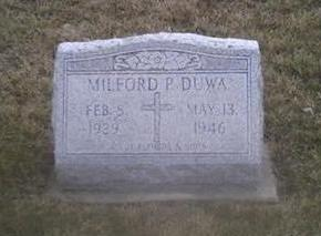 DUWA, MILFORD - Washington County, Iowa | MILFORD DUWA