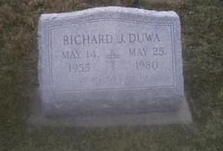DUWA, RICHARD - Washington County, Iowa | RICHARD DUWA