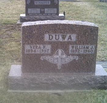 DUWA, WILLIAM J. - Washington County, Iowa | WILLIAM J. DUWA