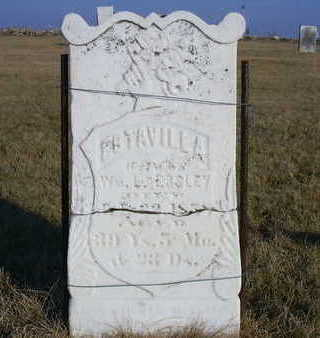 CUSTER ESSLEY, ESTAVILLA - Washington County, Iowa | ESTAVILLA CUSTER ESSLEY