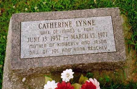 FORT, CATHARINE LYNN - Washington County, Iowa | CATHARINE LYNN FORT