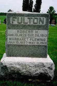 FULTON, ROBERT H. - Washington County, Iowa | ROBERT H. FULTON