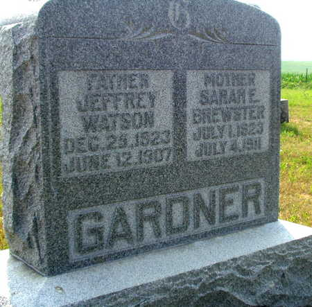 GARDNER, SARAH E - Washington County, Iowa | SARAH E GARDNER