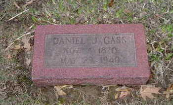 GASS, DANIEL J. - Washington County, Iowa | DANIEL J. GASS