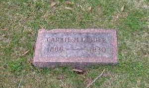 GLIDER, CARRIE M. - Washington County, Iowa | CARRIE M. GLIDER