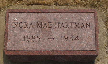HARTMAN, NORA MAE - Washington County, Iowa | NORA MAE HARTMAN