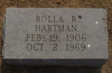 HARTMAN, ROLLA R - Washington County, Iowa | ROLLA R HARTMAN
