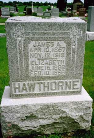 HAWTHORNE, JAMES A. - Washington County, Iowa | JAMES A. HAWTHORNE