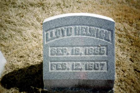 HELWICK, LLOYD - Washington County, Iowa | LLOYD HELWICK