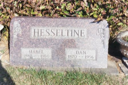 LOWE HESSELTINE, MABEL - Washington County, Iowa | MABEL LOWE HESSELTINE