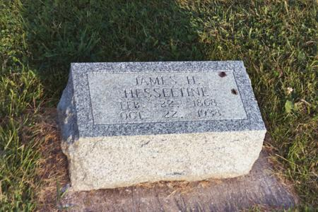 HESSELTINE, JAMES H. - Washington County, Iowa | JAMES H. HESSELTINE