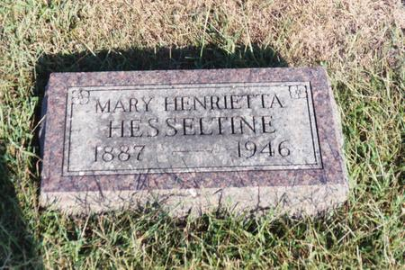 BARNETT HESSELTINE, MARY H. - Washington County, Iowa | MARY H. BARNETT HESSELTINE