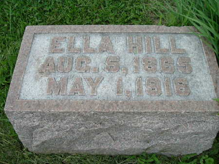 HILL, ELLA - Washington County, Iowa | ELLA HILL
