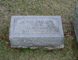 HOUGH, JESSIE PATCHIN - Washington County, Iowa   JESSIE PATCHIN HOUGH