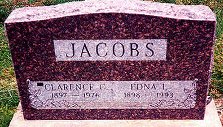 JACOBS, EDNA LUCILLE - Washington County, Iowa | EDNA LUCILLE JACOBS