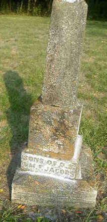 JACOBS, LEWIS AND INFANT - Washington County, Iowa | LEWIS AND INFANT JACOBS
