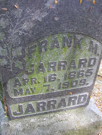 JARRARD, FRANK M. - Washington County, Iowa | FRANK M. JARRARD