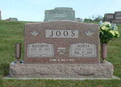 JOOS, HORST - Washington County, Iowa | HORST JOOS