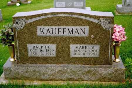KAUFFMAN, MABEL V. - Washington County, Iowa | MABEL V. KAUFFMAN