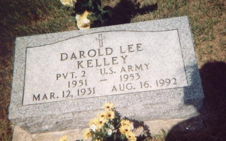 KELLEY, DAROLD LEE - Washington County, Iowa   DAROLD LEE KELLEY