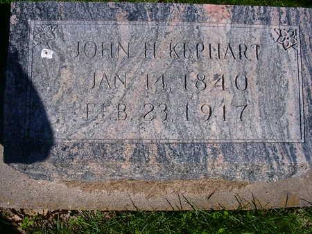 KEPHART, JOHN H. KEPHART - Washington County, Iowa | JOHN H. KEPHART KEPHART