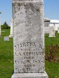 REEVES KEPHART, MARTHA A. - Washington County, Iowa | MARTHA A. REEVES KEPHART