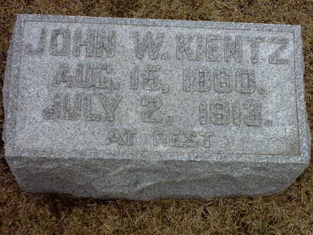 KIENTZ, JOHN W. - Washington County, Iowa | JOHN W. KIENTZ