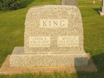 KURTZ KING, MARY J. - Washington County, Iowa | MARY J. KURTZ KING