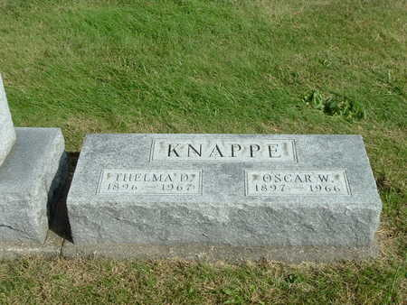 KNAPPE, THELMA D. - Washington County, Iowa | THELMA D. KNAPPE