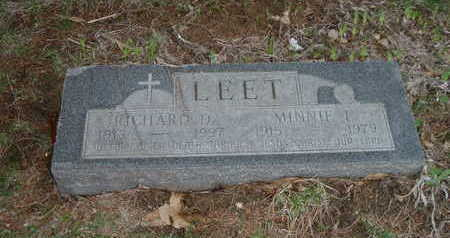 LEET, MINNIE L. - Washington County, Iowa | MINNIE L. LEET