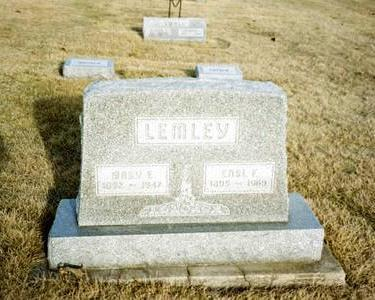 WALLACE LEMLEY, MARY E. - Washington County, Iowa | MARY E. WALLACE LEMLEY