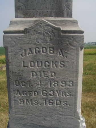 LOUCKS, JACOB A - Washington County, Iowa | JACOB A LOUCKS