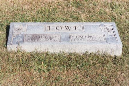 LOWE, CLARENCE - Washington County, Iowa | CLARENCE LOWE