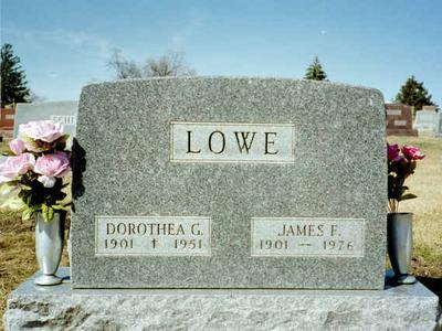 LOWE, DOROTHEA G. - Washington County, Iowa | DOROTHEA G. LOWE