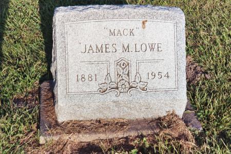 LOWE, JAMES M.