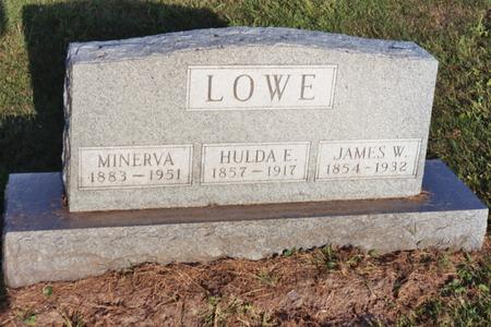 LOWE, HULDA E. - Washington County, Iowa | HULDA E. LOWE