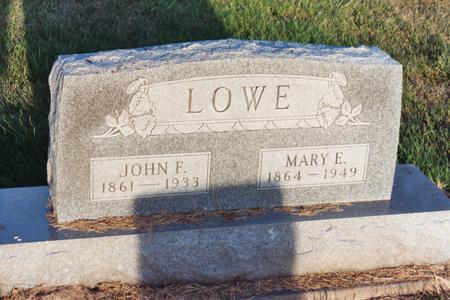LOWE, JOHN F. - Washington County, Iowa | JOHN F. LOWE