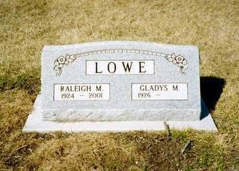 LOWE, GLADYS M - Washington County, Iowa | GLADYS M LOWE