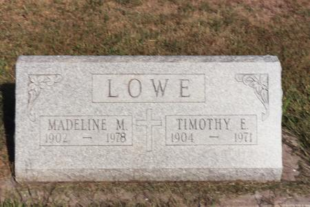 LOWE, TIMOTHY E. - Washington County, Iowa | TIMOTHY E. LOWE