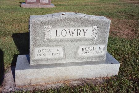 LOWRY, OSCAR V. - Washington County, Iowa | OSCAR V. LOWRY