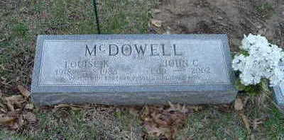 MCDOWELL, JOHN C. - Washington County, Iowa | JOHN C. MCDOWELL