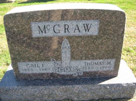 MCGRAW, THOMAS M. - Washington County, Iowa | THOMAS M. MCGRAW