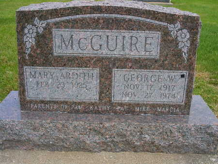 MCGUIRE, GEORGE - Washington County, Iowa | GEORGE MCGUIRE