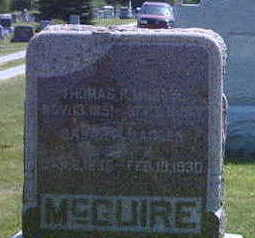 MCGUIRE, THOMAS R. - Washington County, Iowa | THOMAS R. MCGUIRE
